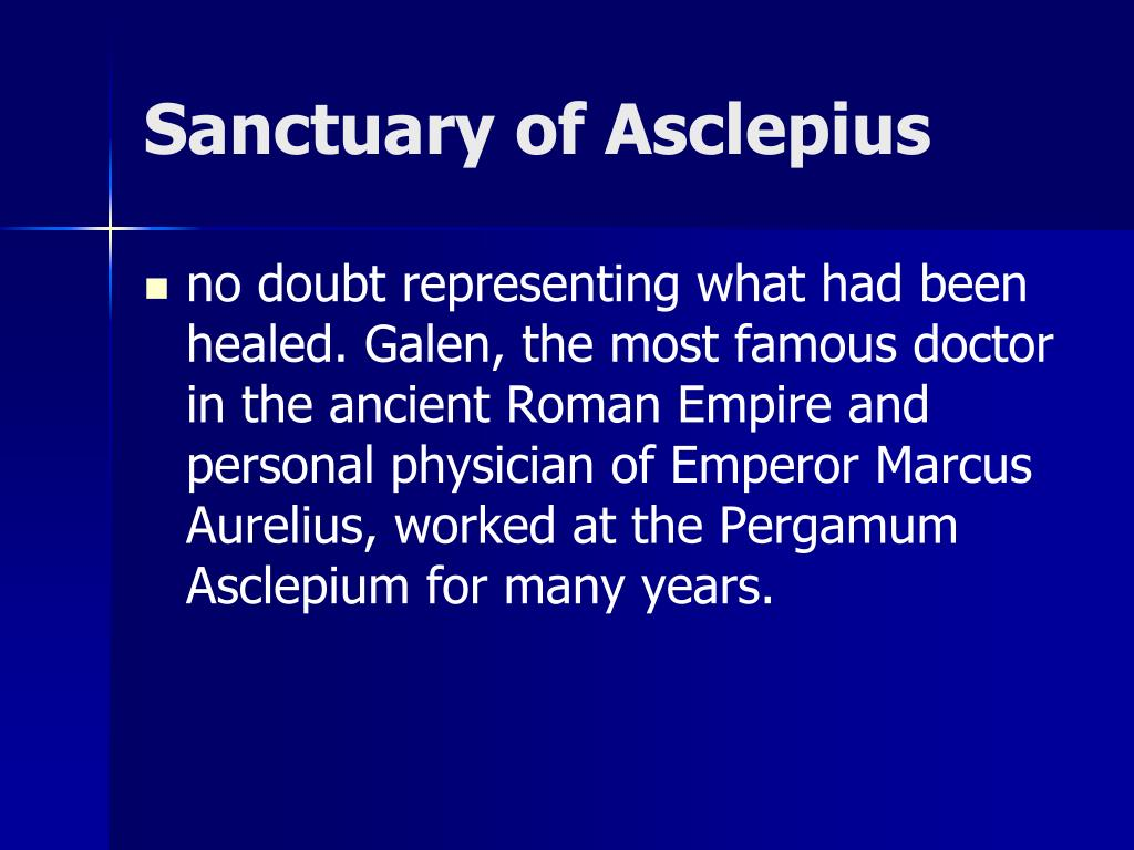 Sanctuary of Asclepius