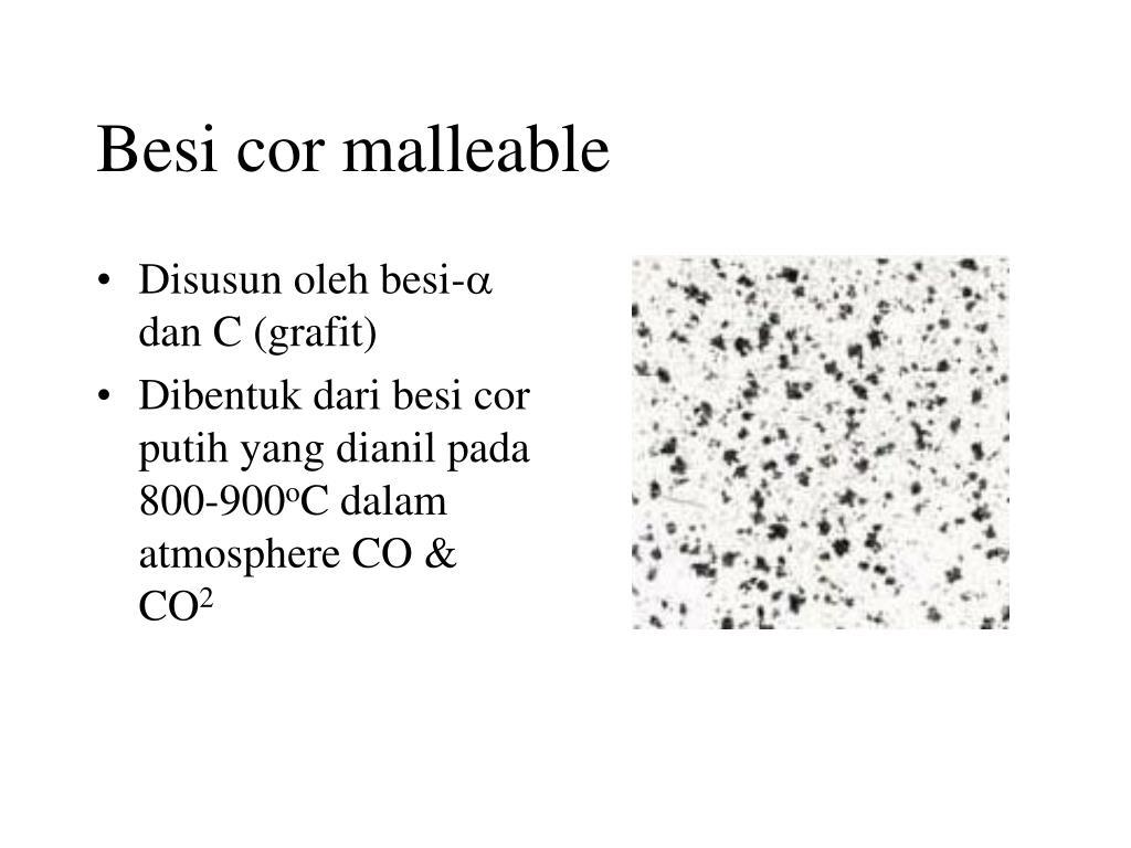 Besi cor malleable