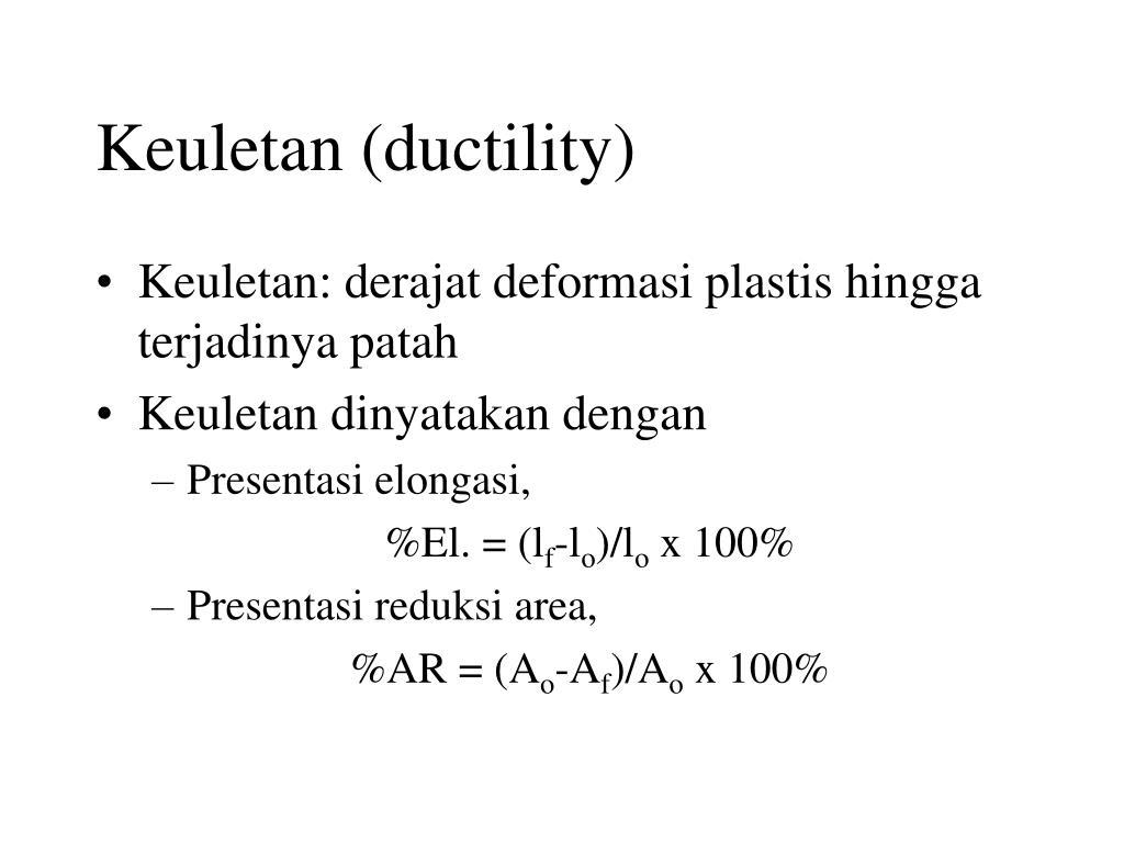 Keuletan (ductility)