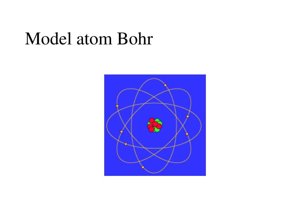 Model atom Bohr