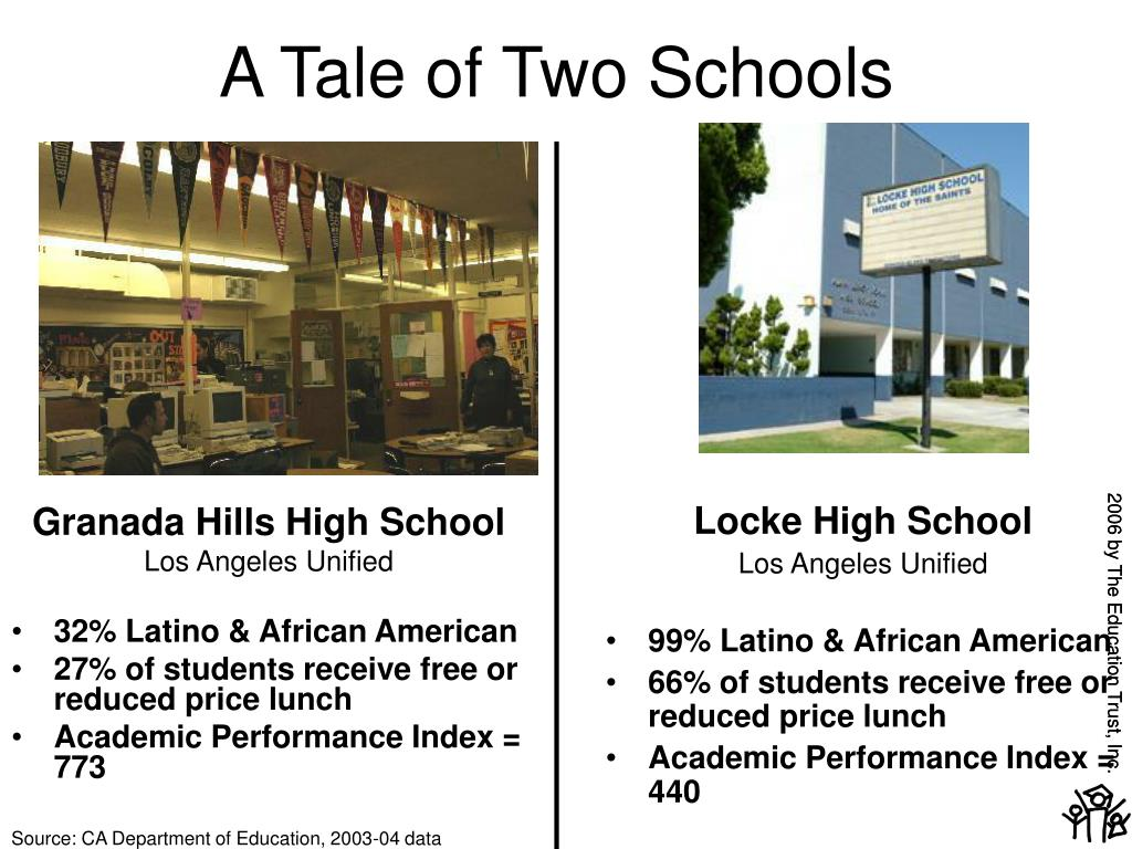 A Tale of Two Schools