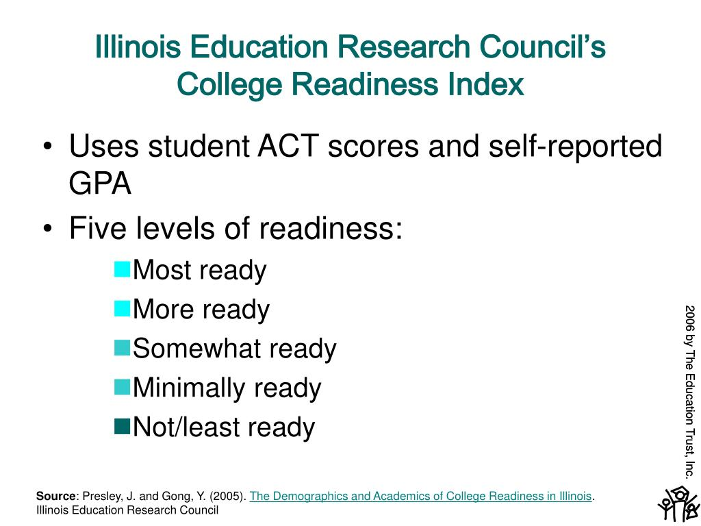 Illinois Education Research Council's College Readiness Index