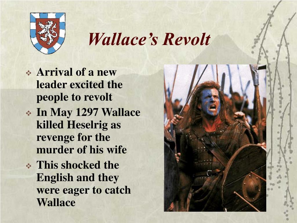 Wallace's Revolt