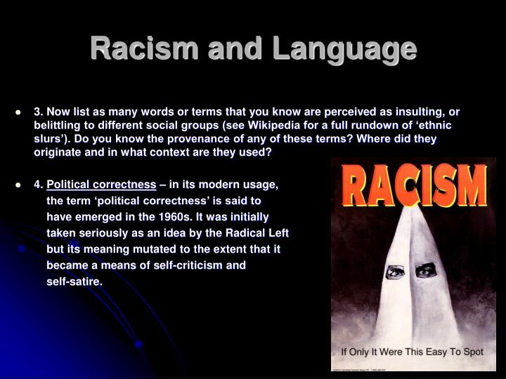 Racism and language2 l.jpg