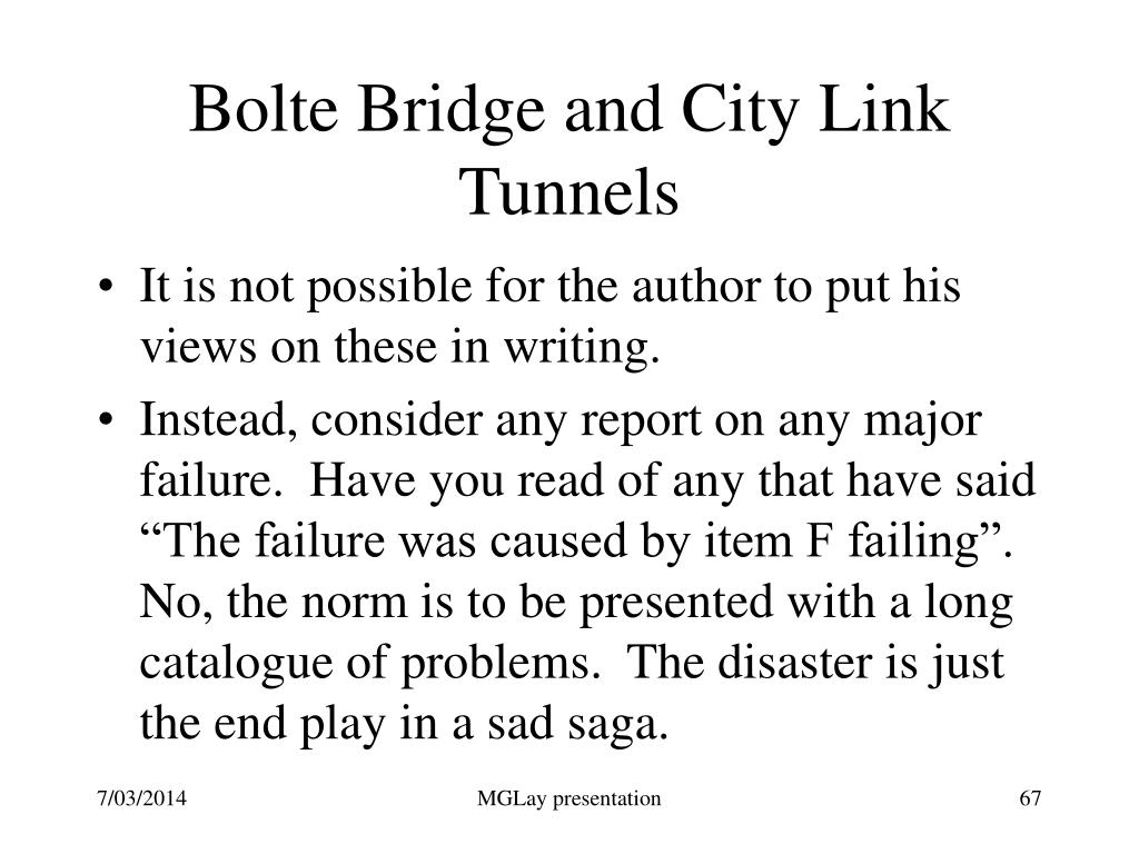 Bolte Bridge and City Link Tunnels