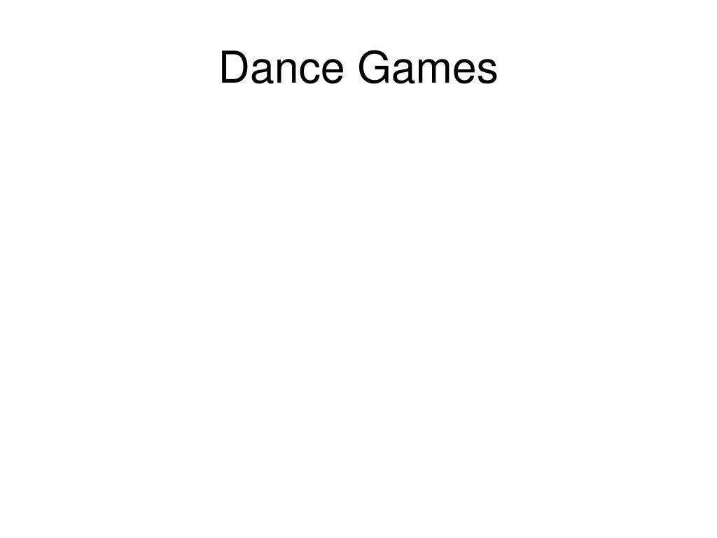 Dance Games