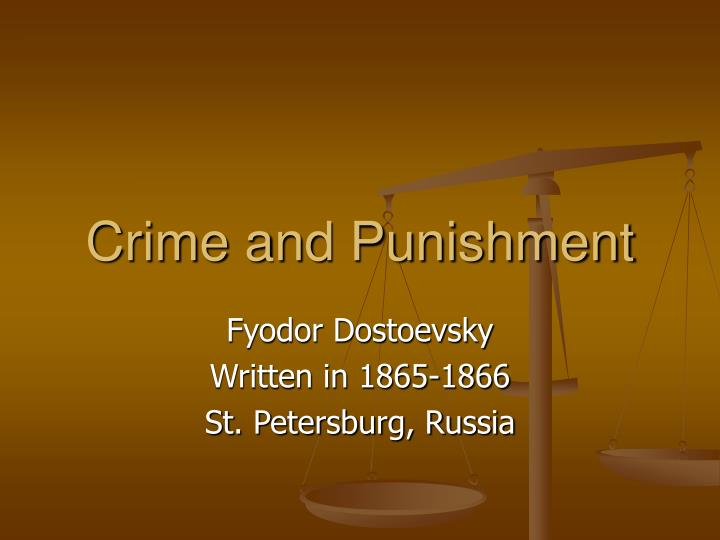 An analysis of the characters from crime and punishment by fyodor dostoyevskiy
