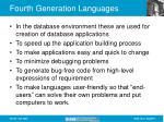 fourth generation languages9