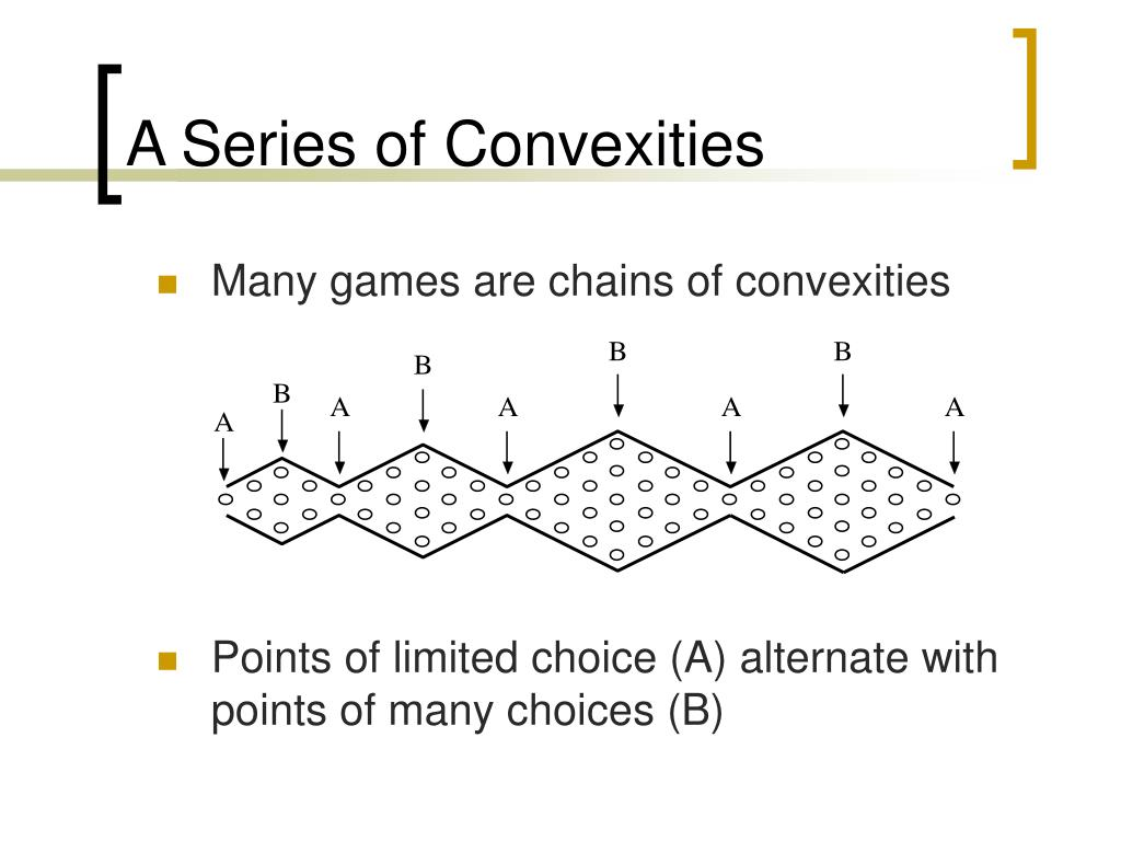 Many games are chains of convexities