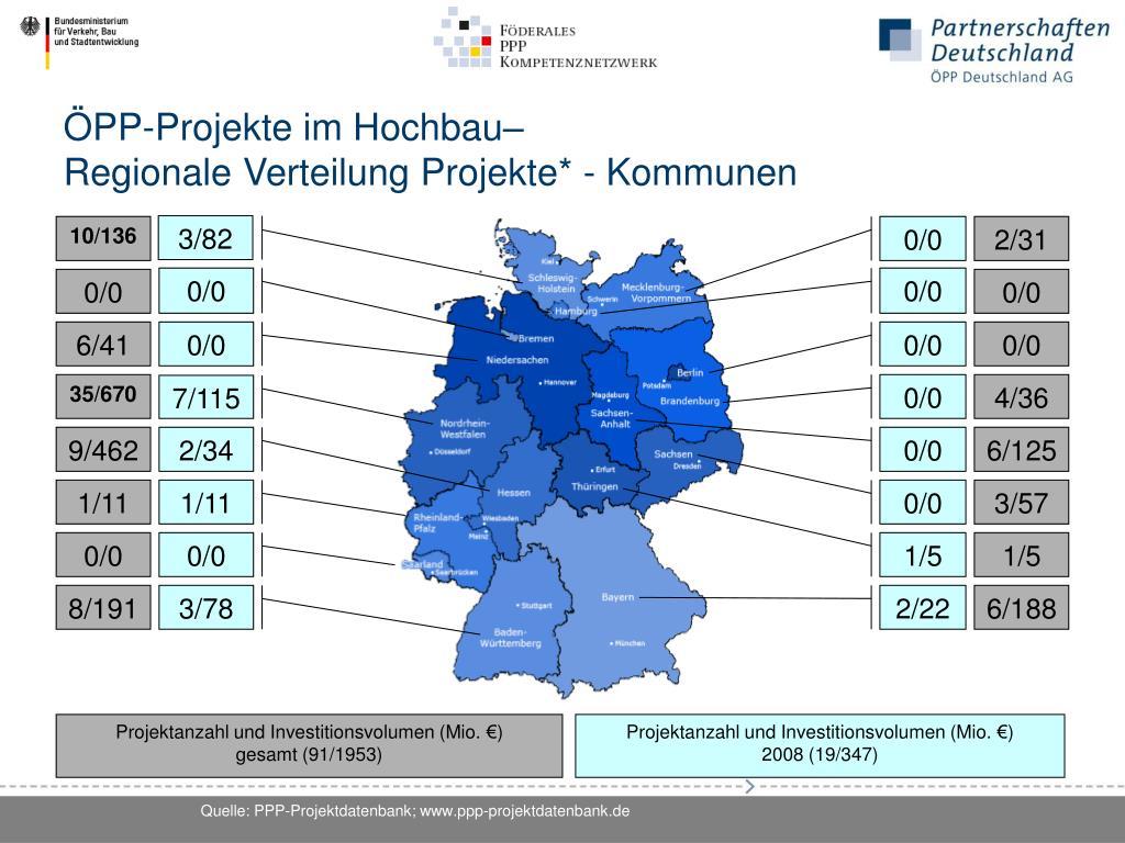ÖPP-Projekte im Hochbau–
