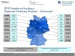pp projekte im hochbau regionale verteilung projekte kommunen