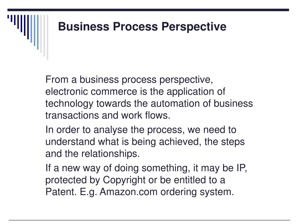 Business Process Perspective