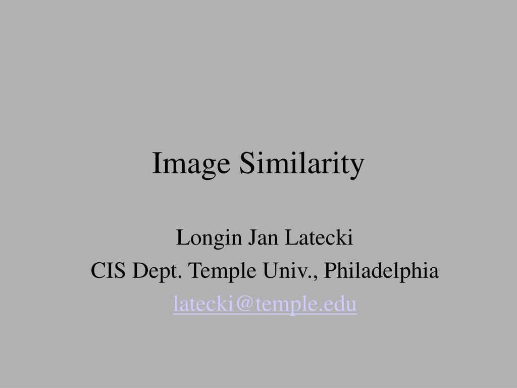 Image Similarity