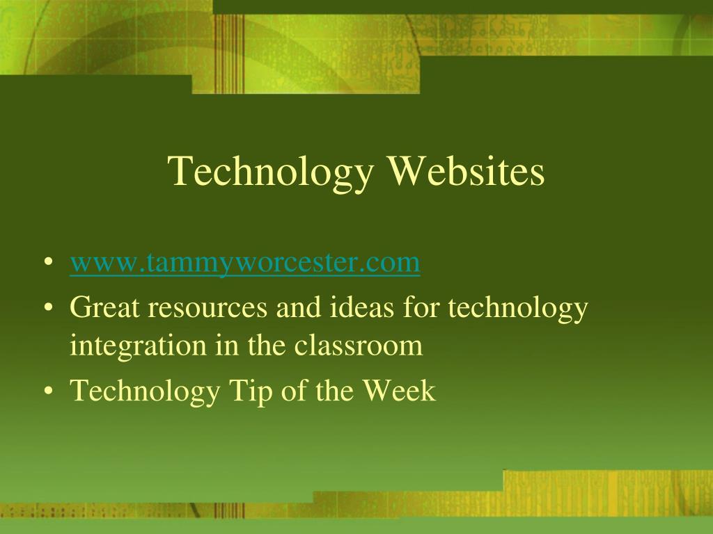 Technology Websites