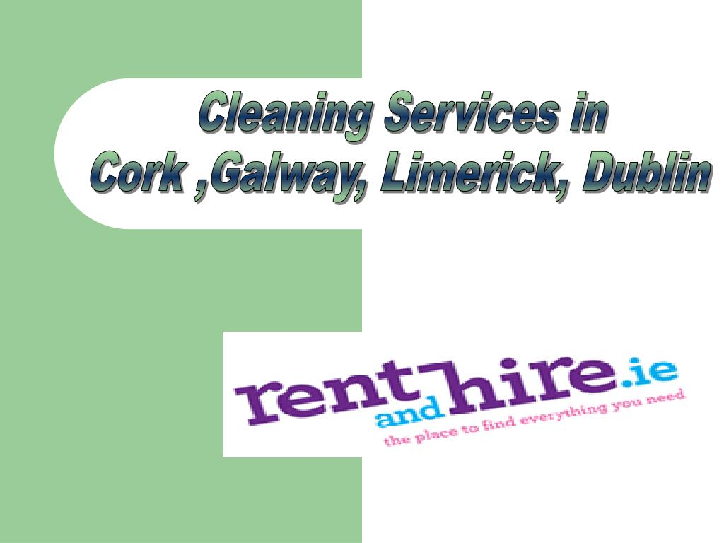 Cleaning Services in