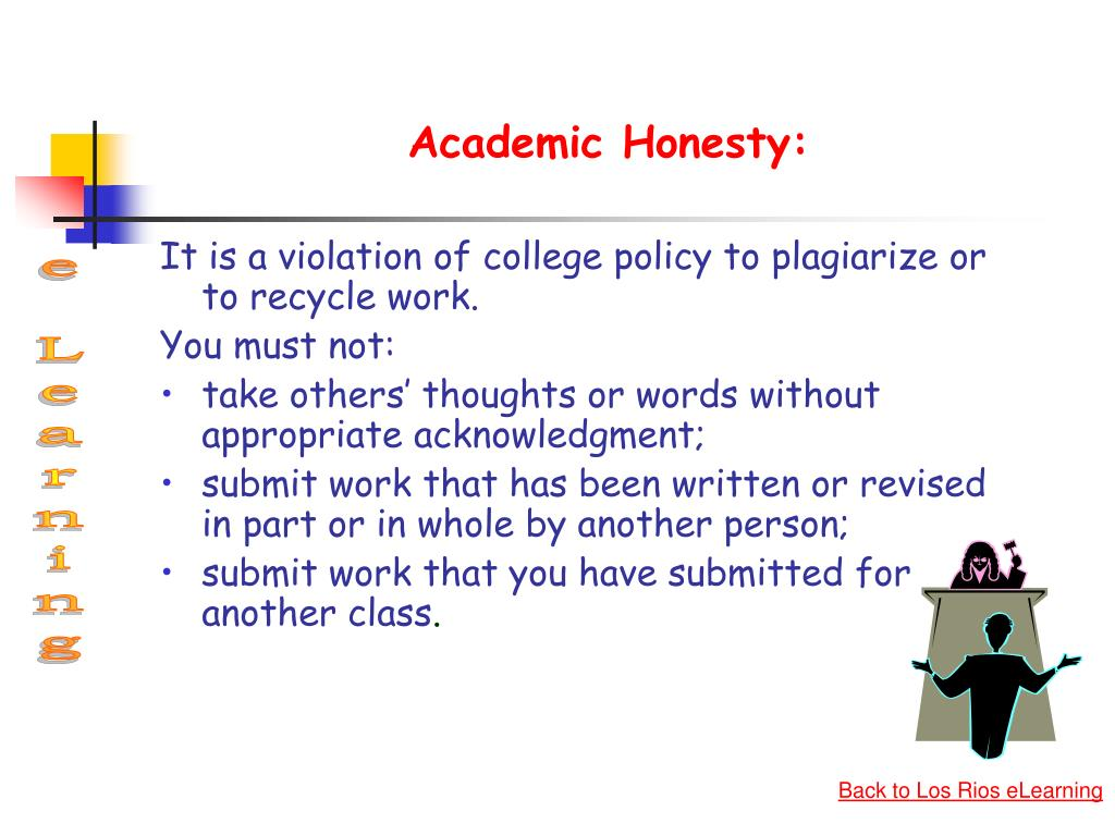 Academic Honesty: