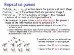 repeated games23