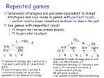repeated games25