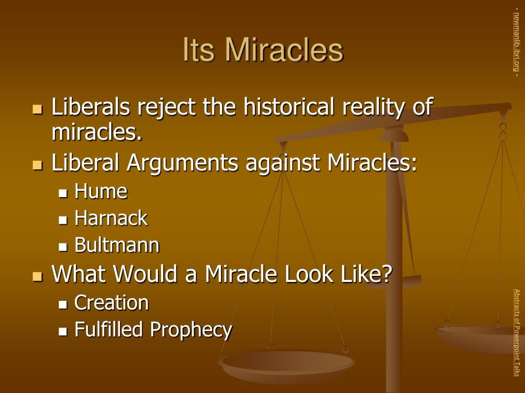 Its Miracles