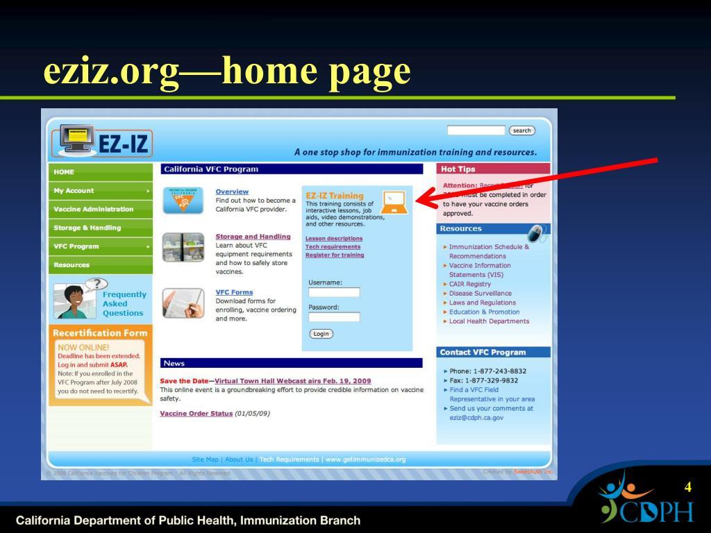eziz.org—home page