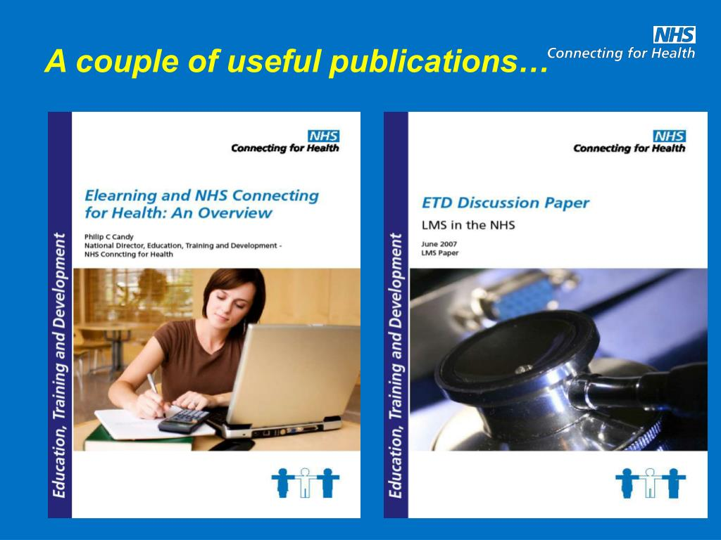 A couple of useful publications…