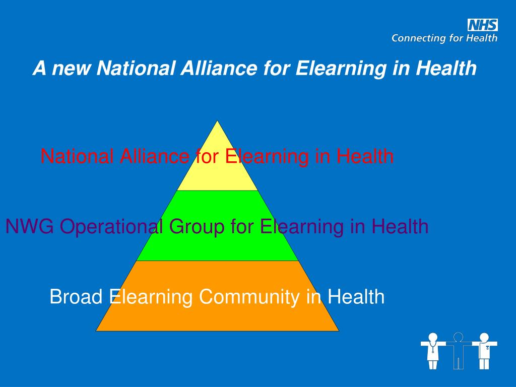 A new National Alliance for Elearning in Health