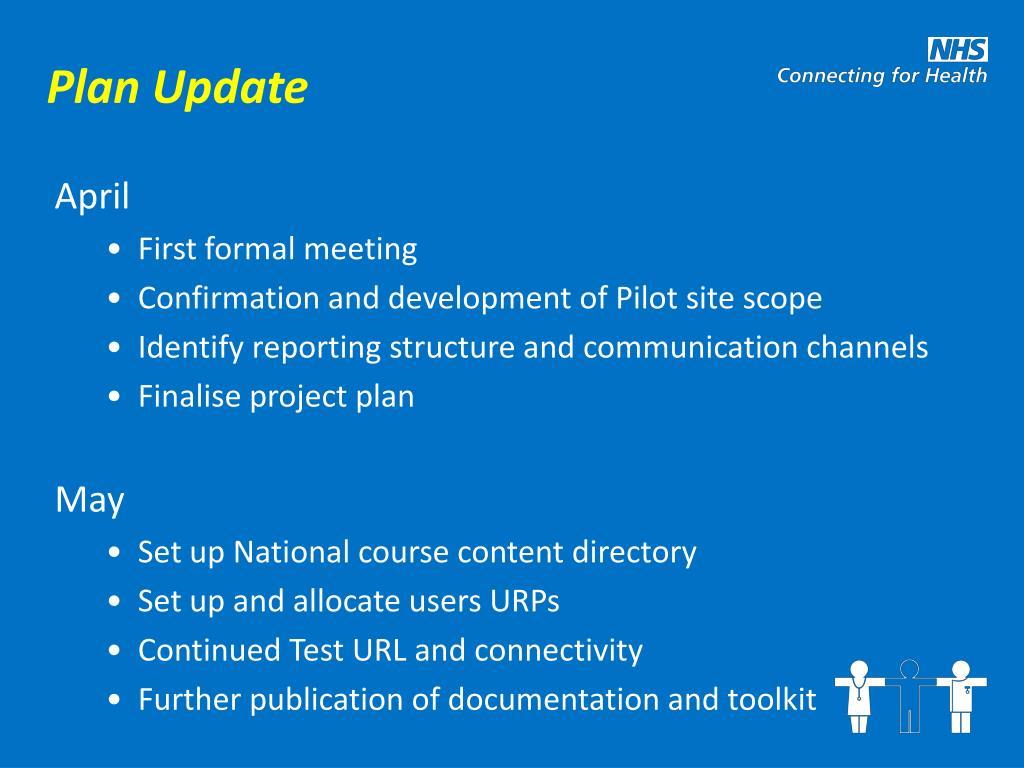 Plan Update