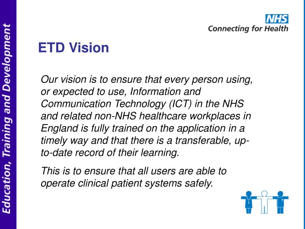 ETD Vision