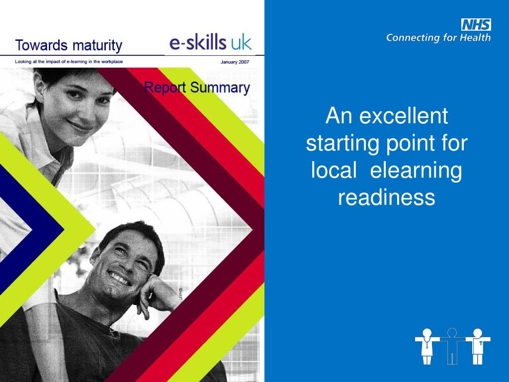 An excellent starting point for local  elearning readiness