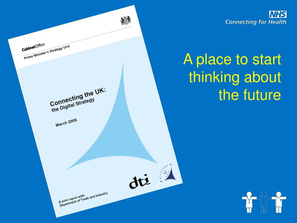 A place to start thinking about the future