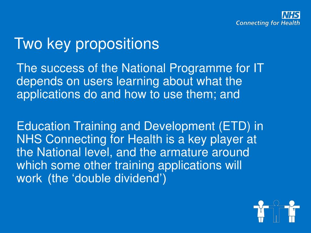 Two key propositions