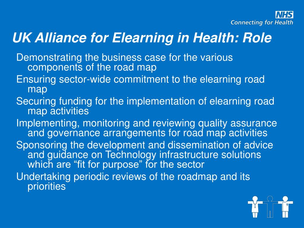 UK Alliance for Elearning in Health: Role