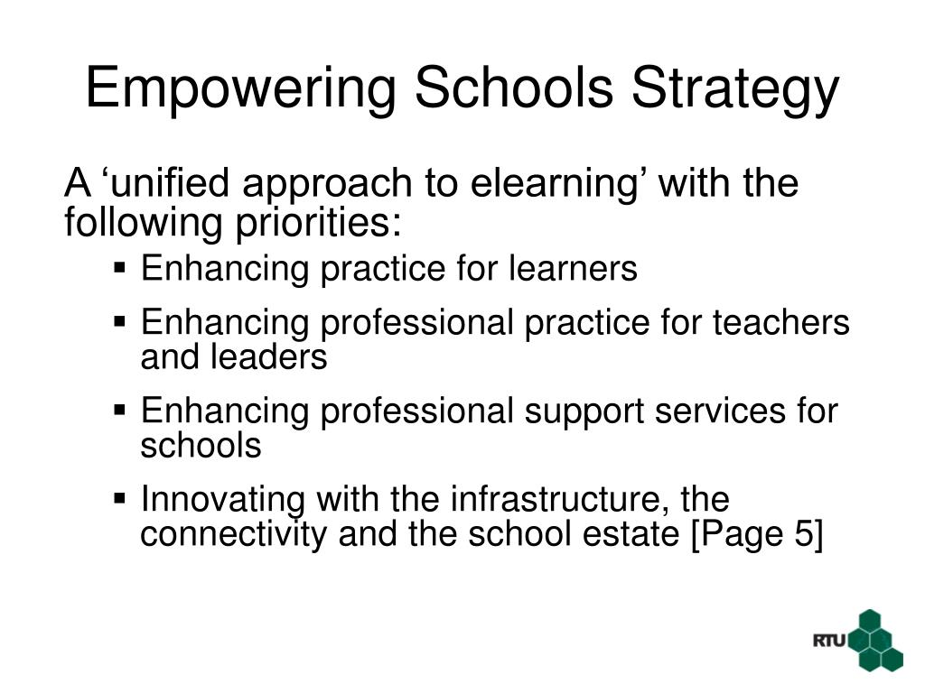 Empowering Schools Strategy