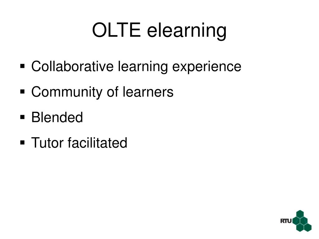 OLTE elearning