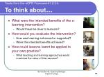 tasks from the ecpd framework1 2 2 4 to think about