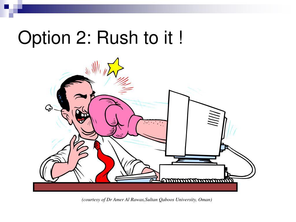 Option 2:
