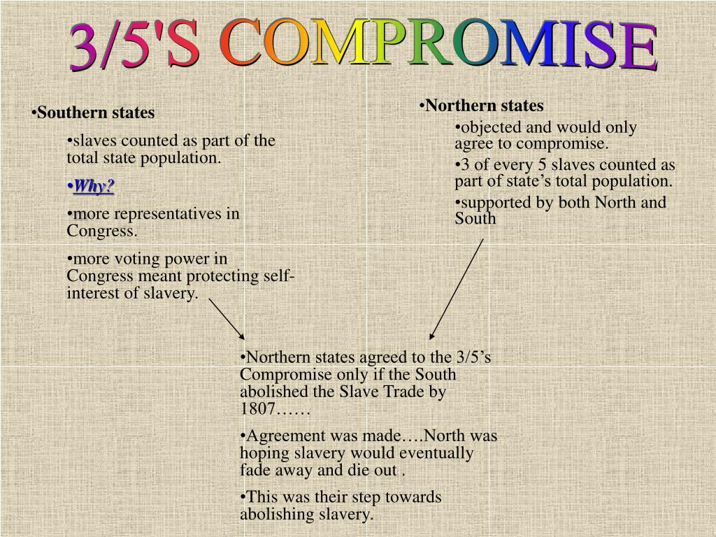 3/5'S COMPROMISE