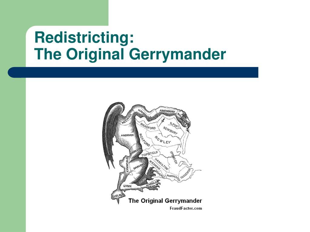 Redistricting: