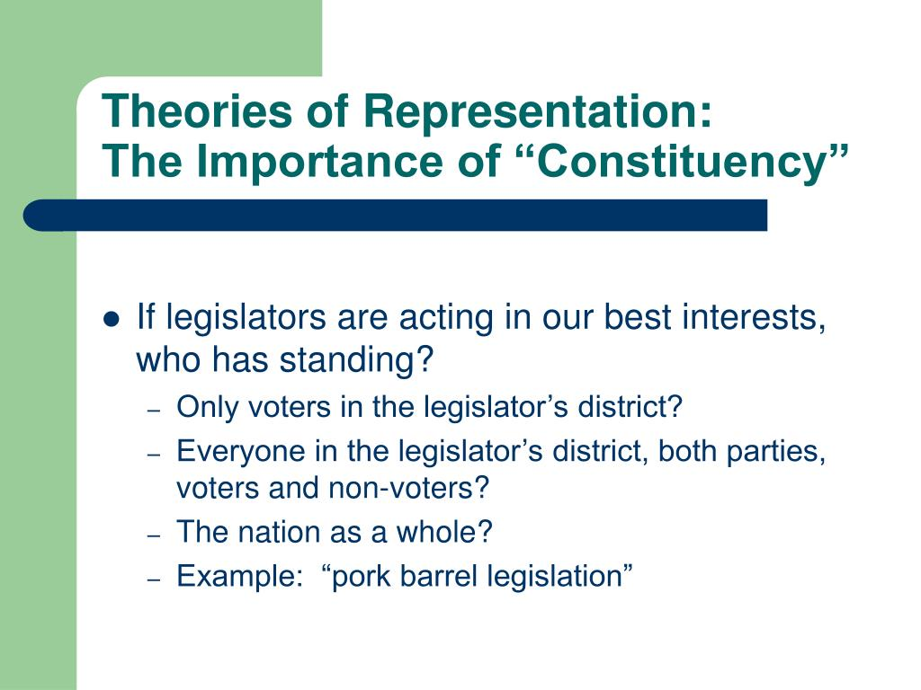 Theories of Representation: