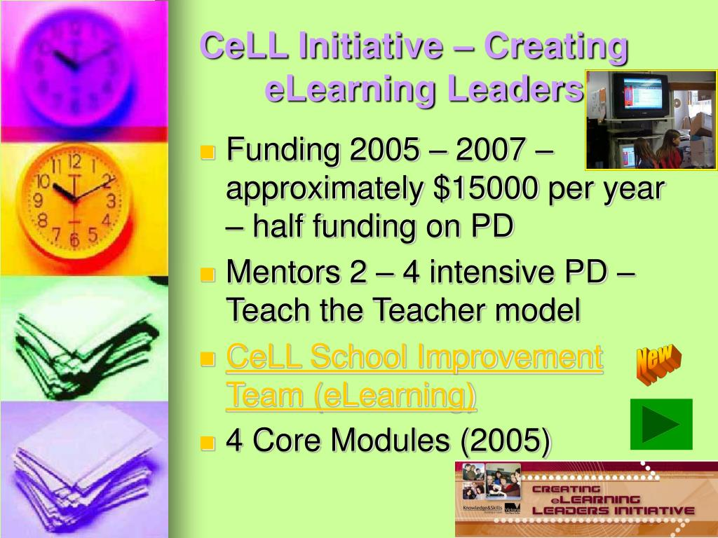 CeLL Initiative – Creating eLearning Leaders