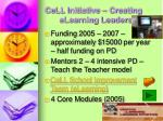 cell initiative creating elearning leaders