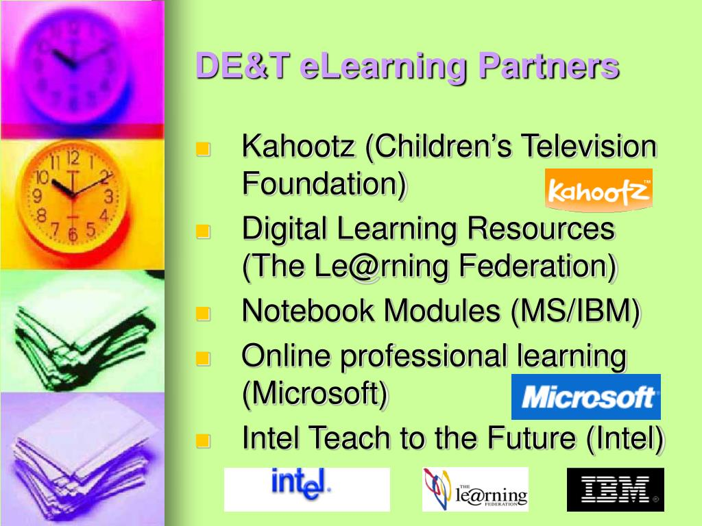DE&T eLearning Partners