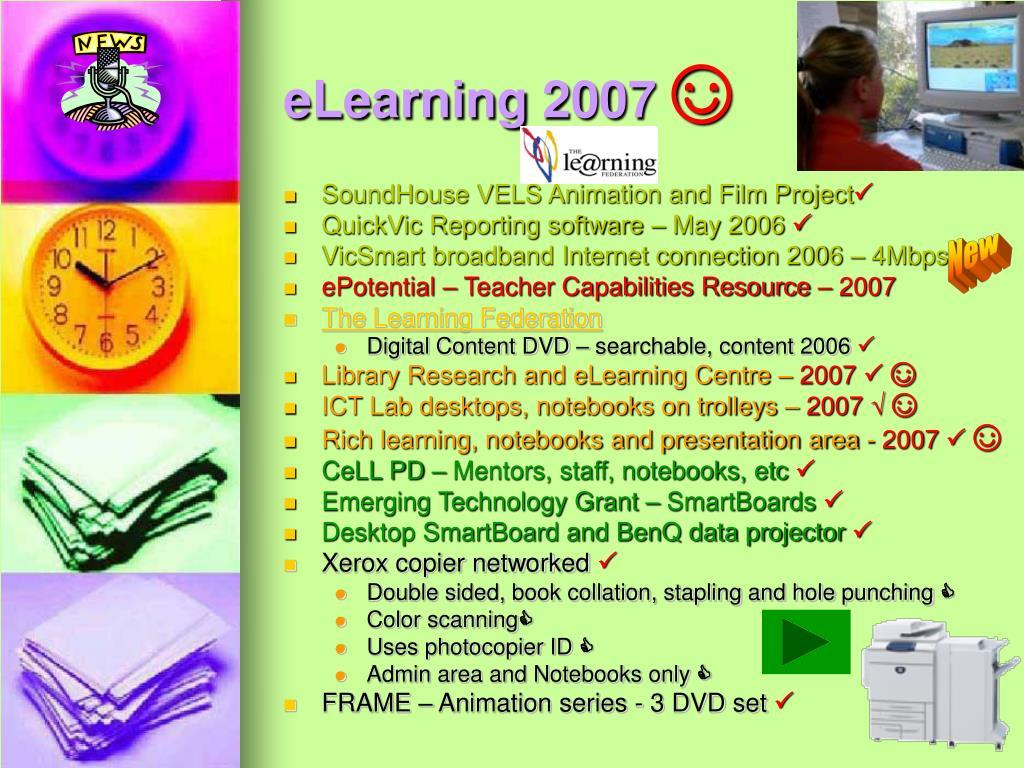 eLearning 2007
