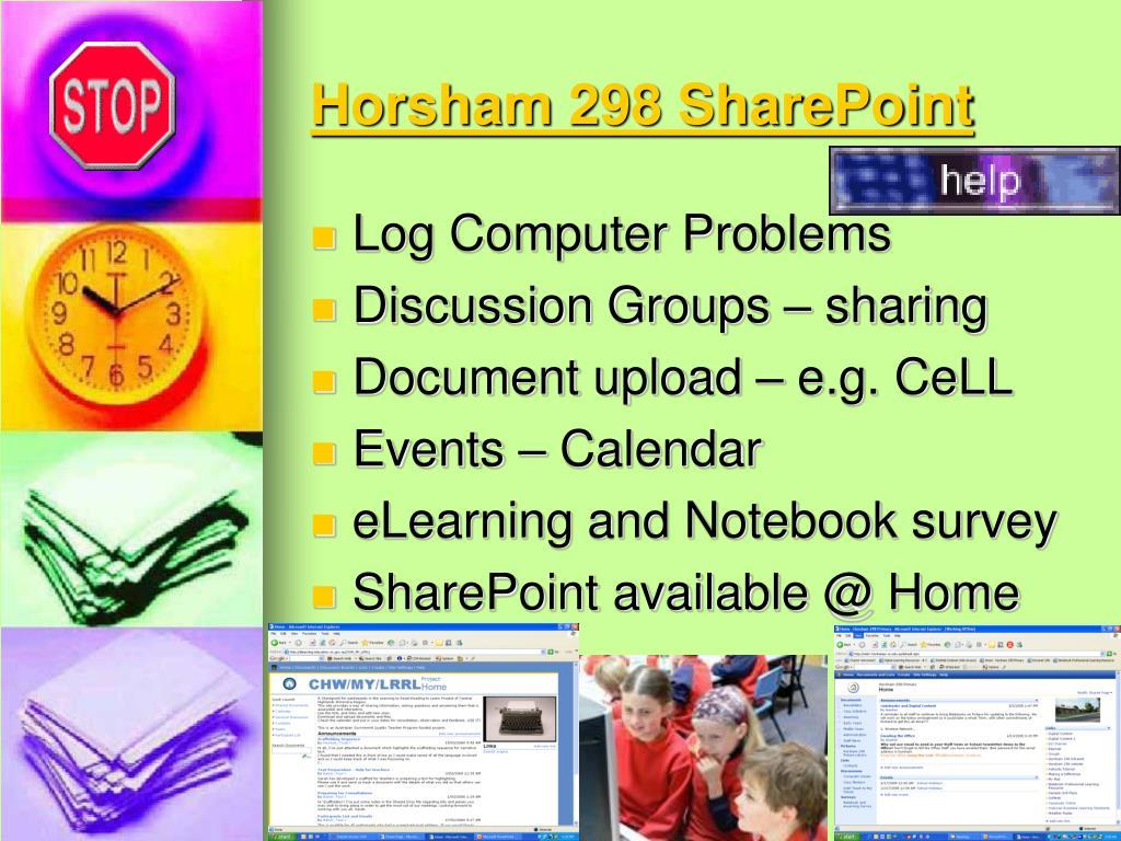 Horsham 298 SharePoint