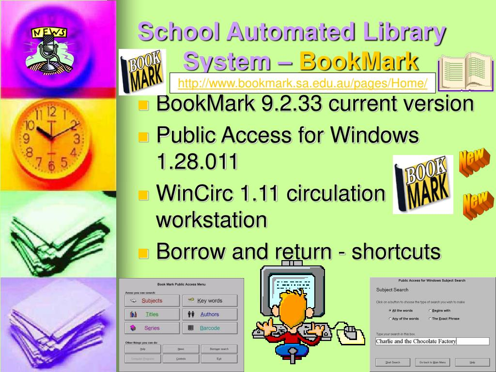 School Automated Library System –