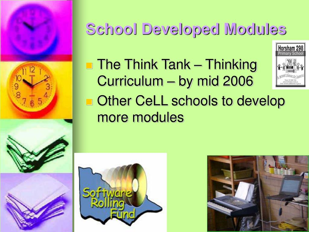 School Developed Modules