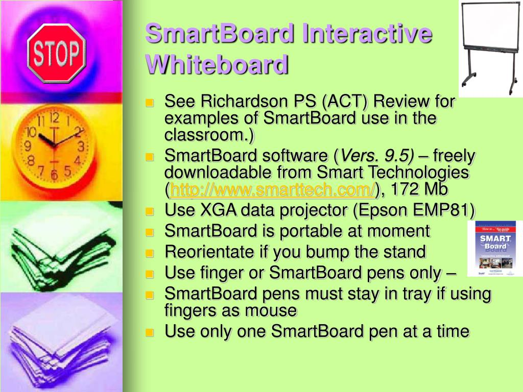 SmartBoard Interactive Whiteboard