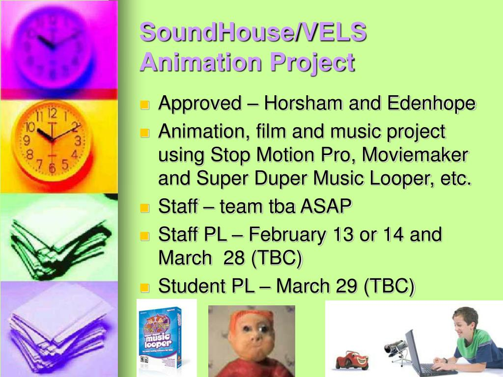 SoundHouse/VELS Animation Project