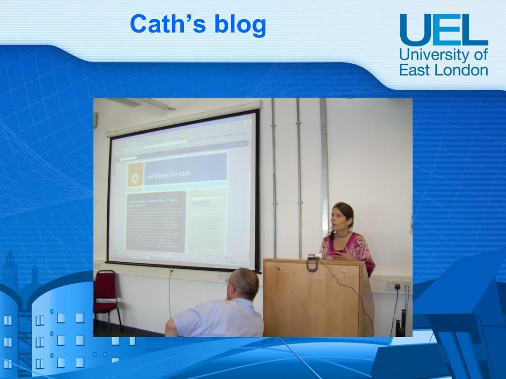 Cath's blog