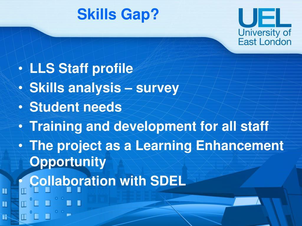 Skills Gap?